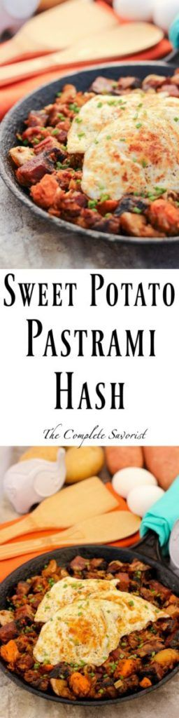Sweet Potato Pastrami Hash | Recipe | Traditional, Sweet ...