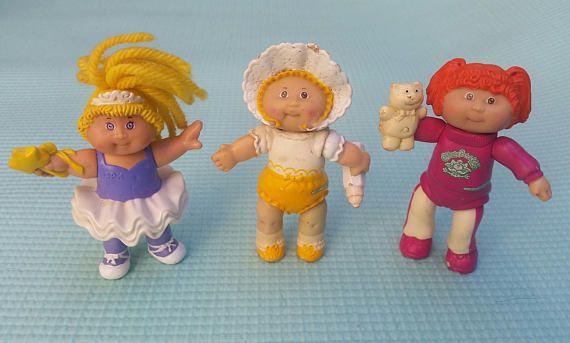 Sale Cabbage Patch Kids Lot Mini Doll Figurine Vintage Cabbage Etsy Cabbage Patch Kids Cabbage Patch Babies Cabbage Patch