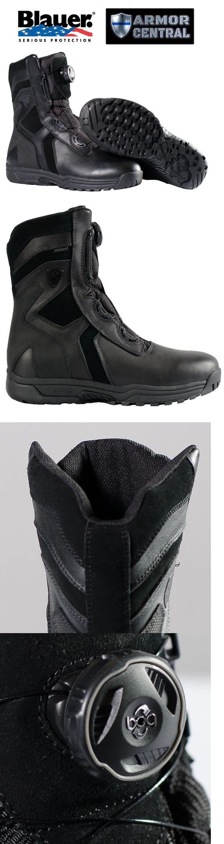 Tactical Footwear 177897: New Blauer 8 Black Blitz Waterproof Boot - Law Enforcement - Swat - Fw028wp -> BUY IT NOW ONLY: $174.95 on eBay!