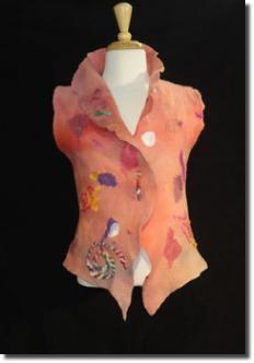 Caroly Barnett's felted vest