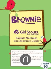 Brownie Girl Scouts 2012 2013 SAMPLE