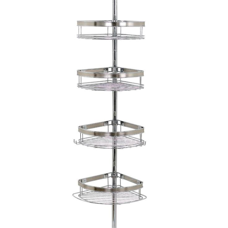 Shower Caddy Chrome Corner