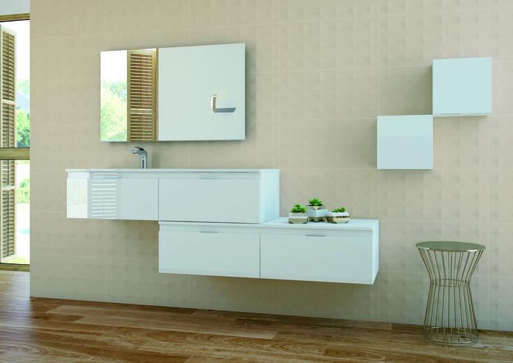 Serie Lipari. Grespania Cerámica / Serie Aqua. Mueble Baño Grespania www.grespania.com www.facebook.com/grespaniaceramica