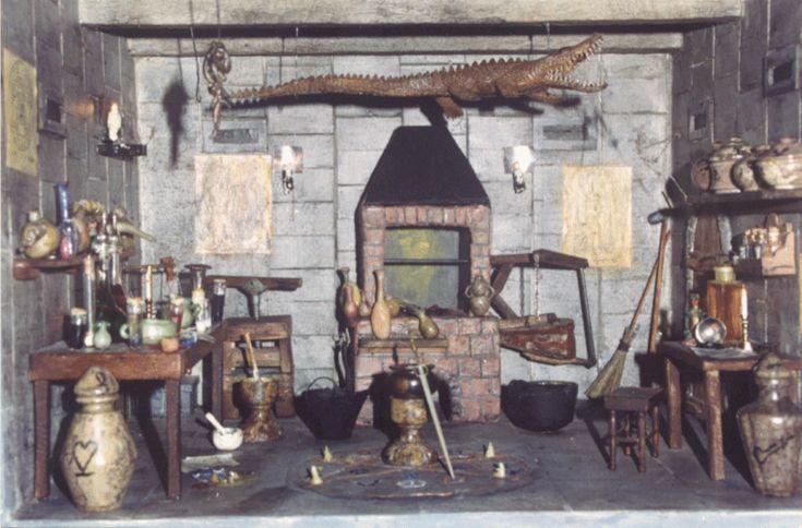 The alchemy lab