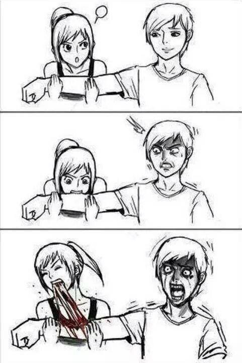 Me as a girlfriend