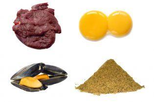 Alimentos ricos em Ferro