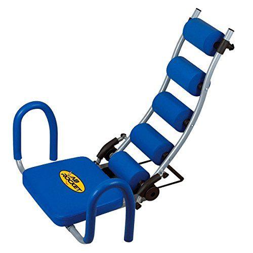 Fitness House AB Rocket - Aparato para abdominales, color azul, talla única Para ver mas visita este enlace https://cadaviernes.com/ofertas-de-aparatos-de-abdominales/