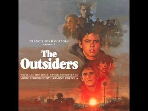 ▶ Stay Gold (Alternate Version) - Stevie Wonder. From the 1983 movie The Outsiders. There's so much to be said about it. Matt Dillon was an established dramatic actor as was Diane Lane. Leif Garrett's career was fading. Tom Cruise had just become a star and yet spoke about five lines of dialogue. His time would come of course. And pretty much everyone else was an up-and-comer. Personally I got into this movie when it hit cable television in the spring of 1984. :)