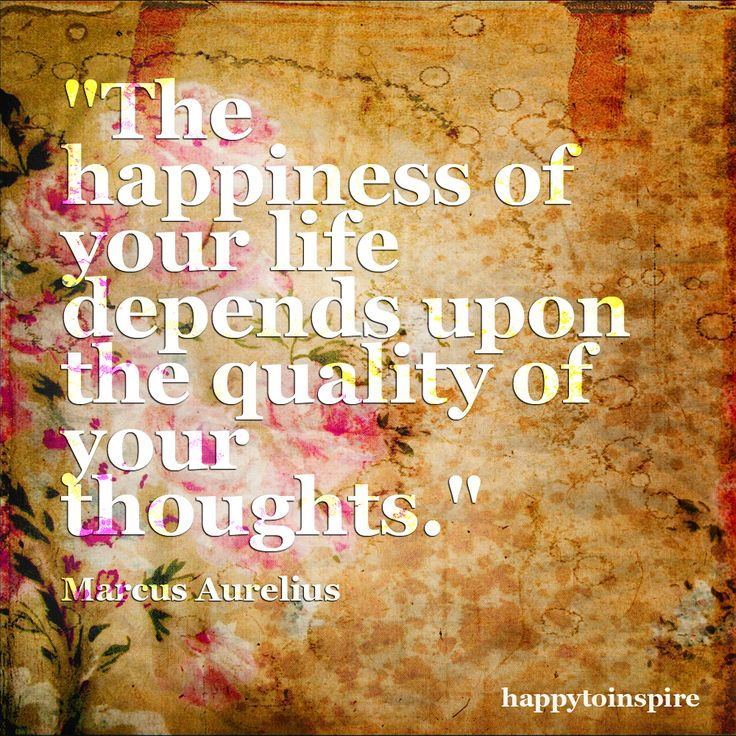 Happy Thoughts U003d Happy Feelings!