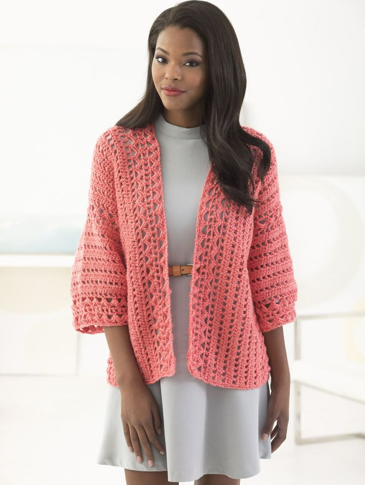 High Street Cardigan (Crochet)