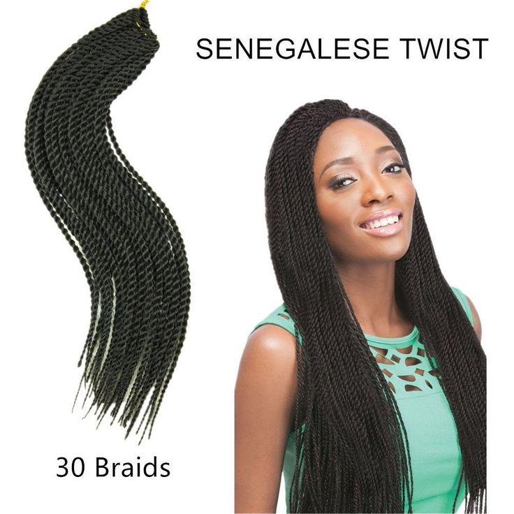 23 best Senegalese braid twist images on Pinterest | Pelo trenzado ...
