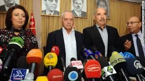 The Nobel Peace Prize for the Tunisian National Dialogue QuartetI congratulate Tunisia's National Dialogue Quartet for their selection as winners of the 2015 Nobel Peace Prize.This extraordinary honor recognizes the critical role civil society organizations played following the Tunisian revolution — by preserving national unity and constructing a political process that led to both