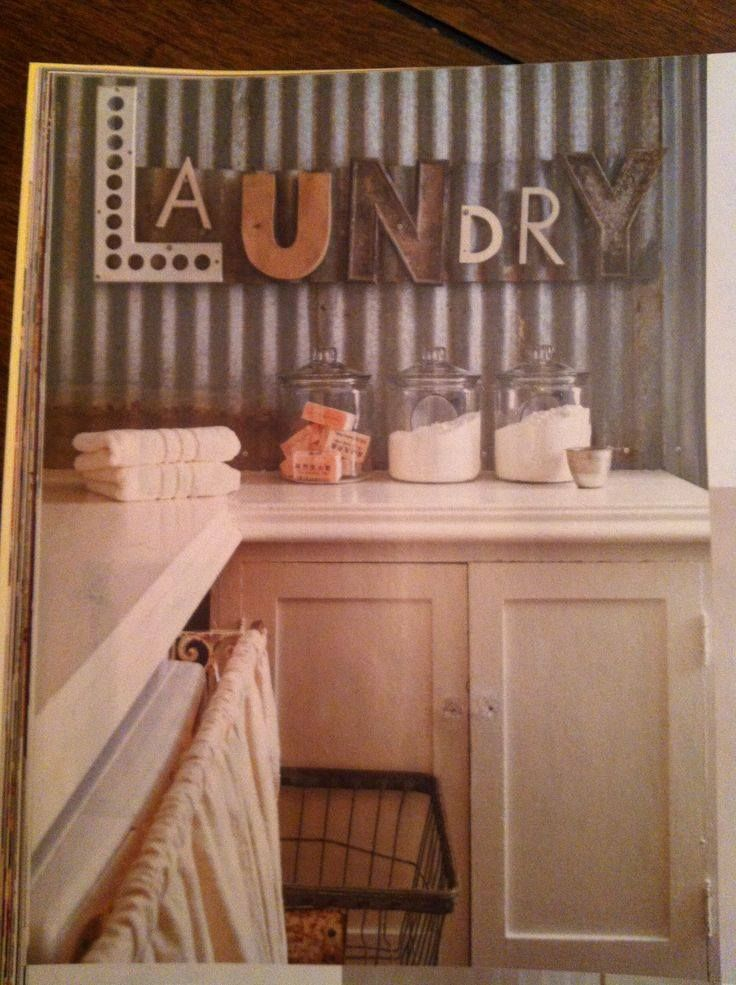 24 best clothesline laundry cart images on pinterest - Laundry room wall ideas ...
