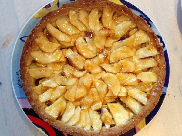 Overheerlijke appeltaart met spijs