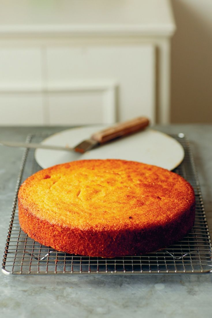 A gluten-free cake recipe from TV chef John Torode, this citrus polenta cake makes a delicious dessert.