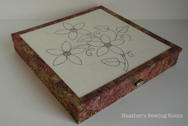 Heather's Sewing Room: A Gift box for Quilting Blocks