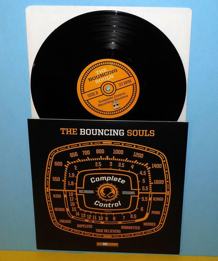 "the BOUNCING SOULS complete control 10"" Record punk Vinyl misfits alkaline trio #punkPunkNewWave"