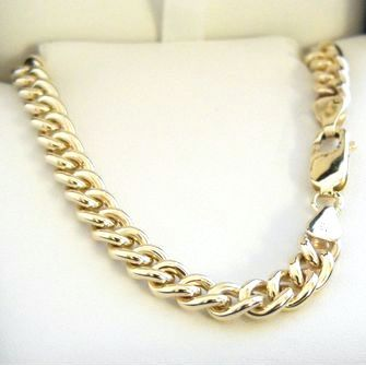9ct Gold Round Curb Chains
