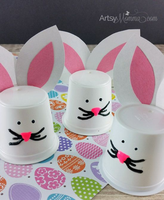 K-Cup-Bunny-Craft-Easter                                                                                                                                                                                 More