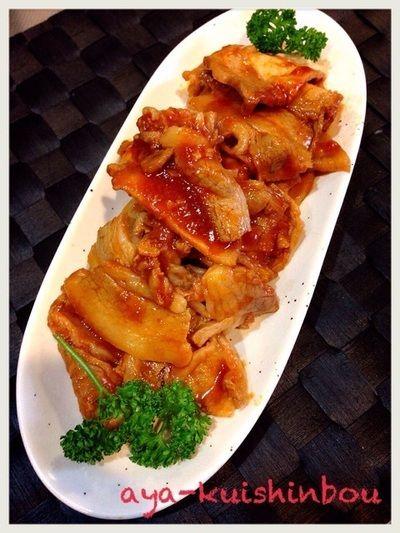 うまソース♡トマトタイプで和風ポークチャップ by ayaさん | レシピ ...