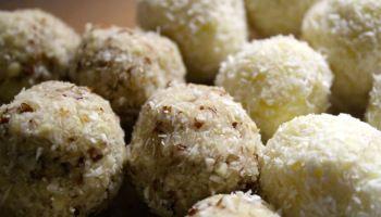 Peprmintové, kešu či mandlové raw kuličky