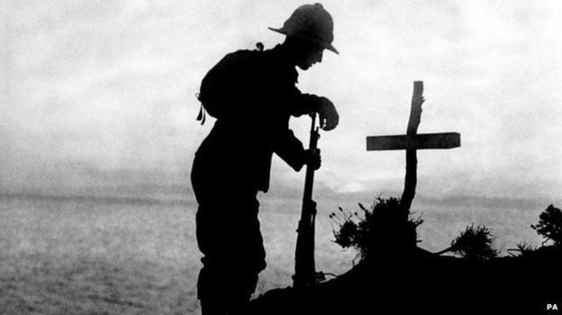 WW1: The Belfast soldiers who fought at Gallipoli - Source - BBC News - © 2014 BBC #WW1, #Gallipoli, #World
