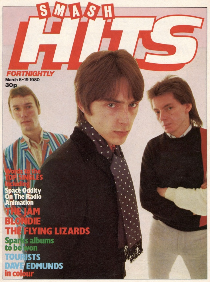 Smash Hits, March 6, 1980 — The Jam