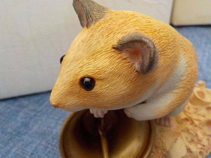 LENOX COUNTRY ARTIST JINGLES THE HAMSTER FIGURINE NEVER DISPLAYED IN MINT CO | eBay