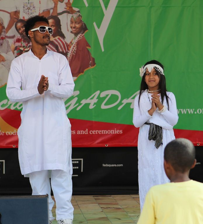 Oromo festival performers. by Awes Amin