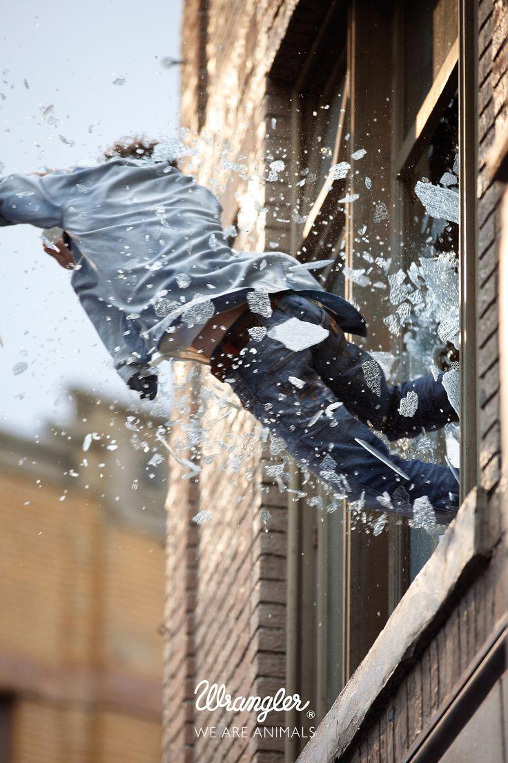 Jason Bourne Time! - Stunt by Fred & Farid Paris for Wrangler via newyorkfestival