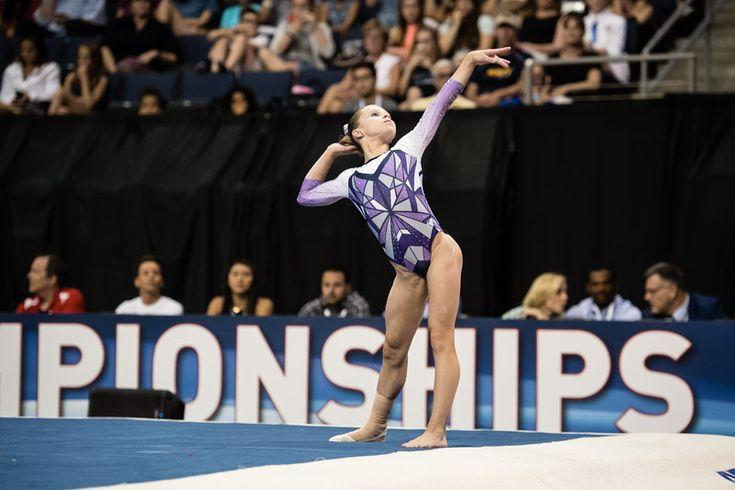 ragan smith gymnastics   ... Gymnastics   June 24, 2016 - Senior Competition Day 1   Ragan Smith