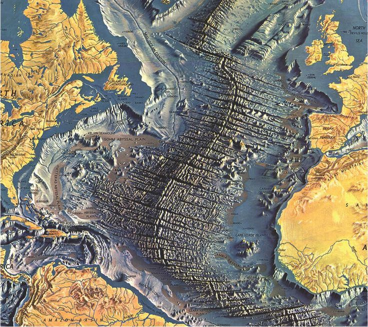 Amazing Geology Atlantic Ocean Floor 1029 best