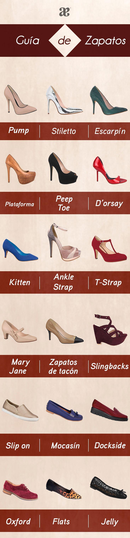 Guía de #zapatos. #Shoes #style #moda #Otoño