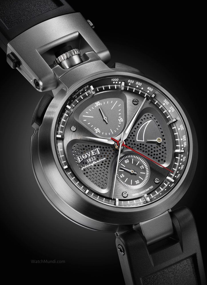 """Bovet by Pininfarina """"SERGIO"""". Equipped to win the hearts and minds of enthusiasts of fine engineering."""