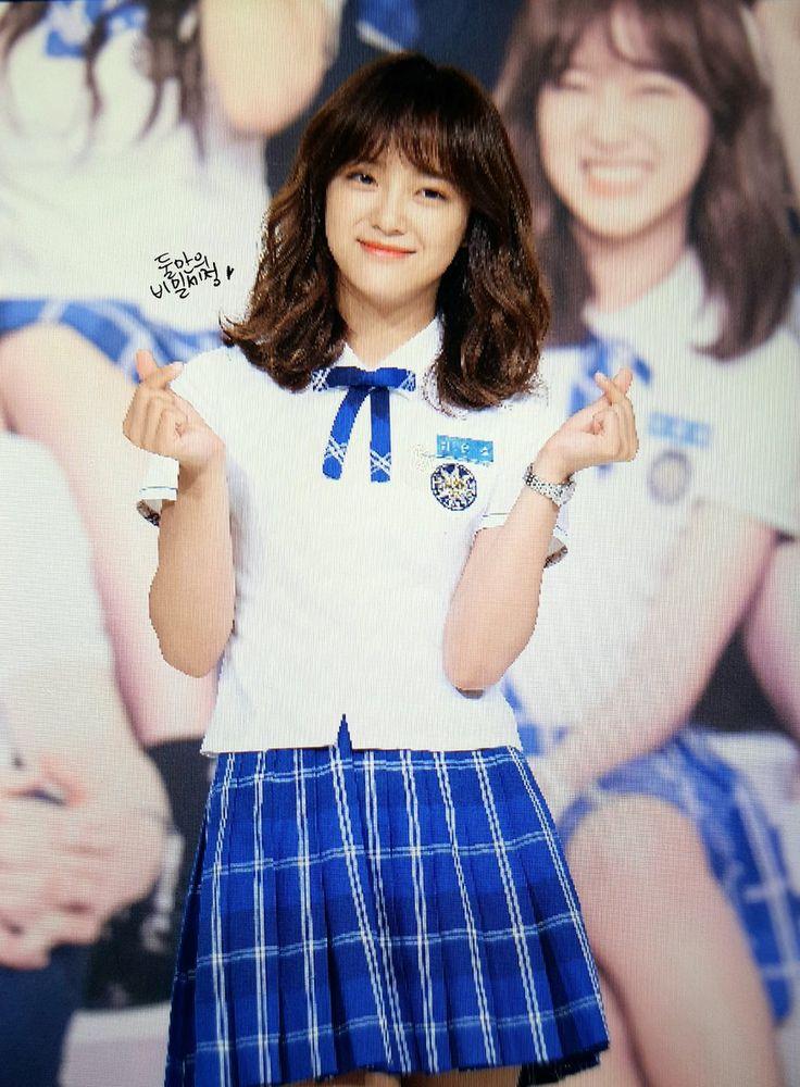 [170711 학교 2017 제작발표회 프리뷰] 은호님!!!! 은호니이이임!!!! 은호님은 제 인생의 1등급이에요!!!!!!!!!!!! #김세정 #세정 #Sejeong #구구단 #gugudan #라은호 #은호 #학교2017