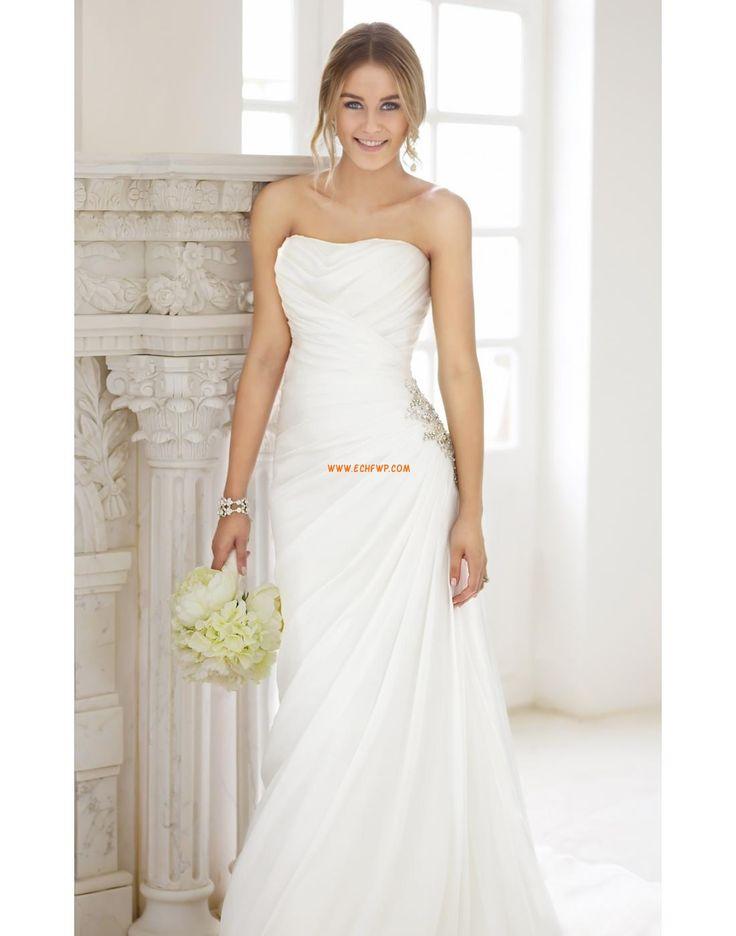 Satäng Vår Snöra upp Bröllopsklänningar 2014