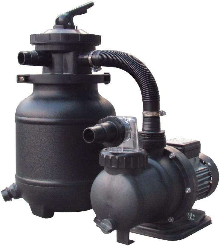 Flowxtreme 10in 25lb sand filter pump system for above