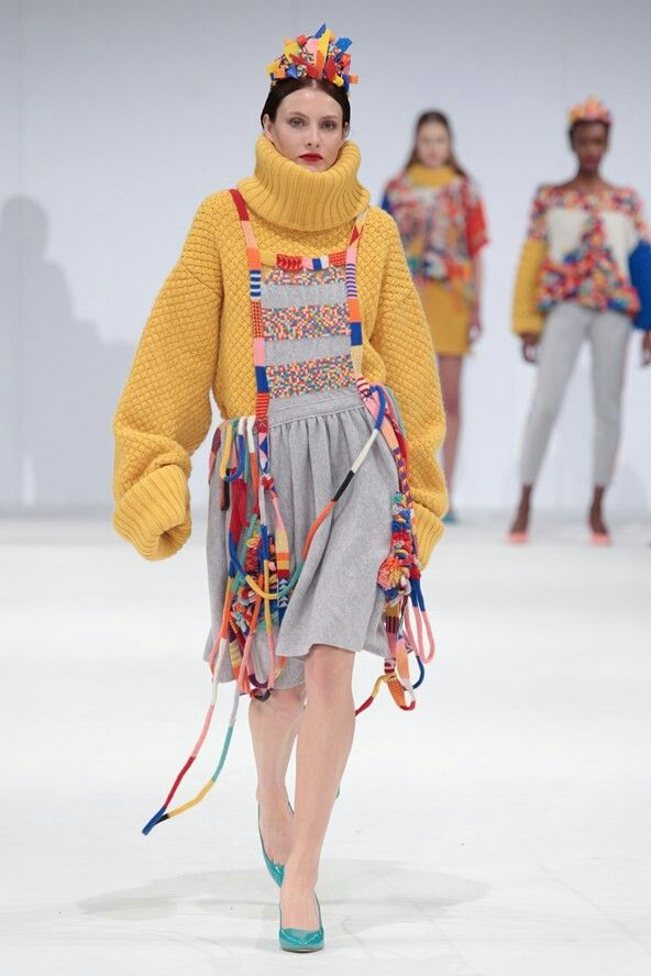 Naomi Lewis, Fashion Knitwear and Knitted Textiles, GFW 2013.