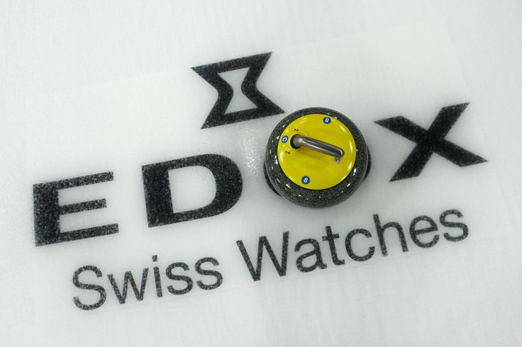Edox is the official timekeeper of the World Curling Federation