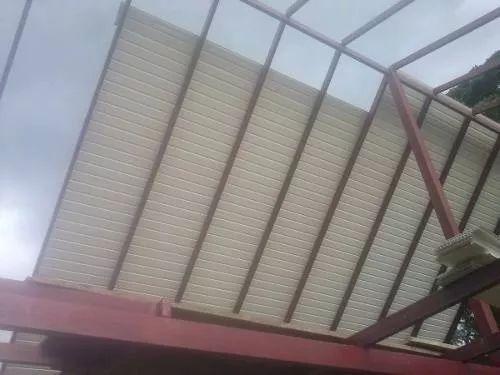 techo machihembrado de pvc lamina 0.25 x 3.05 mtrs