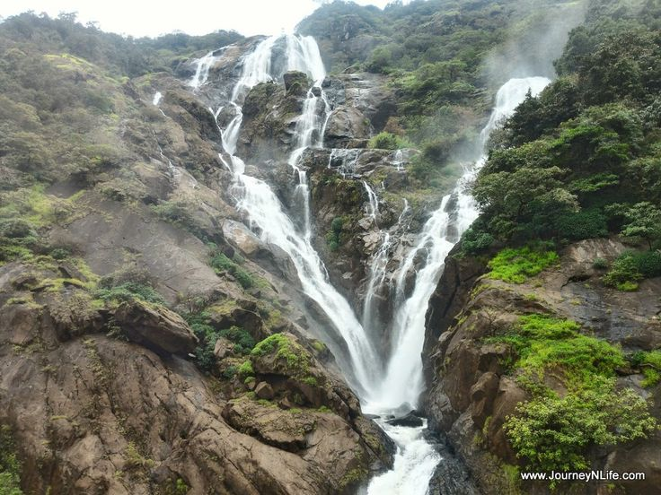 Dudhsagar Waterfalls Trek - One of India's Tallest Waterfalls