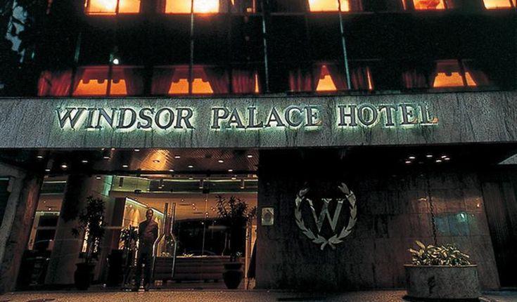Hotel Windsor Palace, ubicado en pleno barrio de Copacabana, Rio de Janeiro.