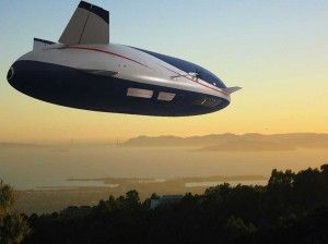 using a zeppelin.  The Aeroscraft is the product of Worldwide Aeros Corp., founded by Igor Pasternak, a Ukrainian who moved to the United States in the 1990s. According to the company, Pasternak found an easy way to control zeppelins in flight, making them a practical way to transport huge loads through the air.