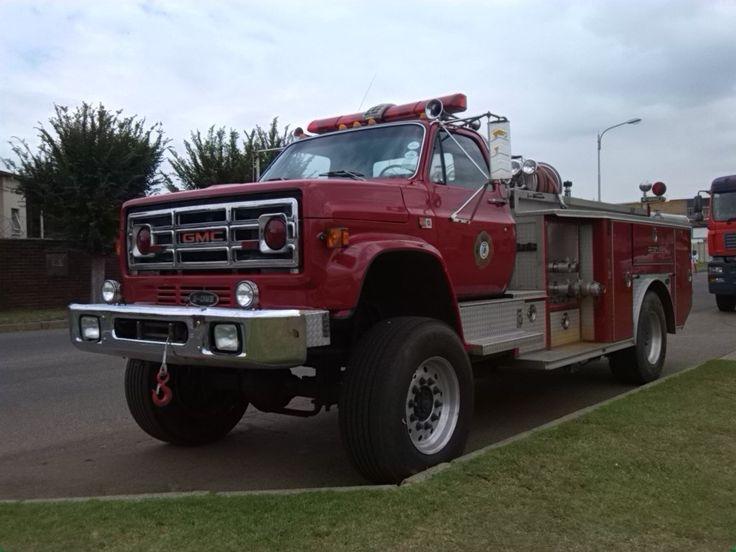 Járművek, közlekedés Dél-Afrikában - tűzoltó autó