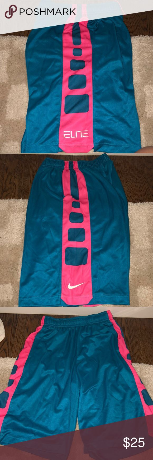 NIKE elite shorts !! size: LARGE BOYS Used for either girls or boys !! Nike Shorts Athletic