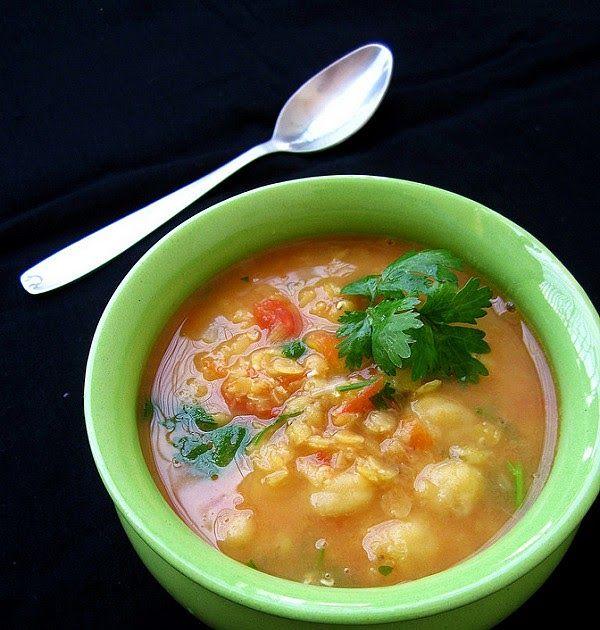 sosovicovo cicerova polievka