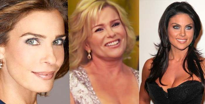 Could it be Kristian Alfonso, Judi Evans, or Nadia Bjorlin who dressed as a clown?