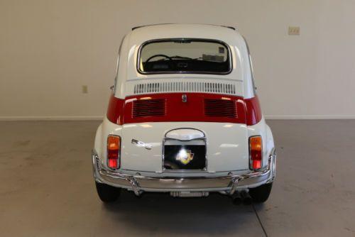 '68 Fiat 595 Abarth