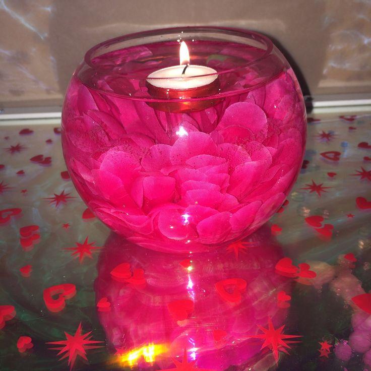 Pink Bloom Centerpiece
