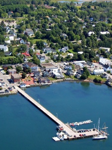 The community of St. Andrews by-the-Sea New Brunswick Canada.  A charming, prosperous and visually stunning residential community.